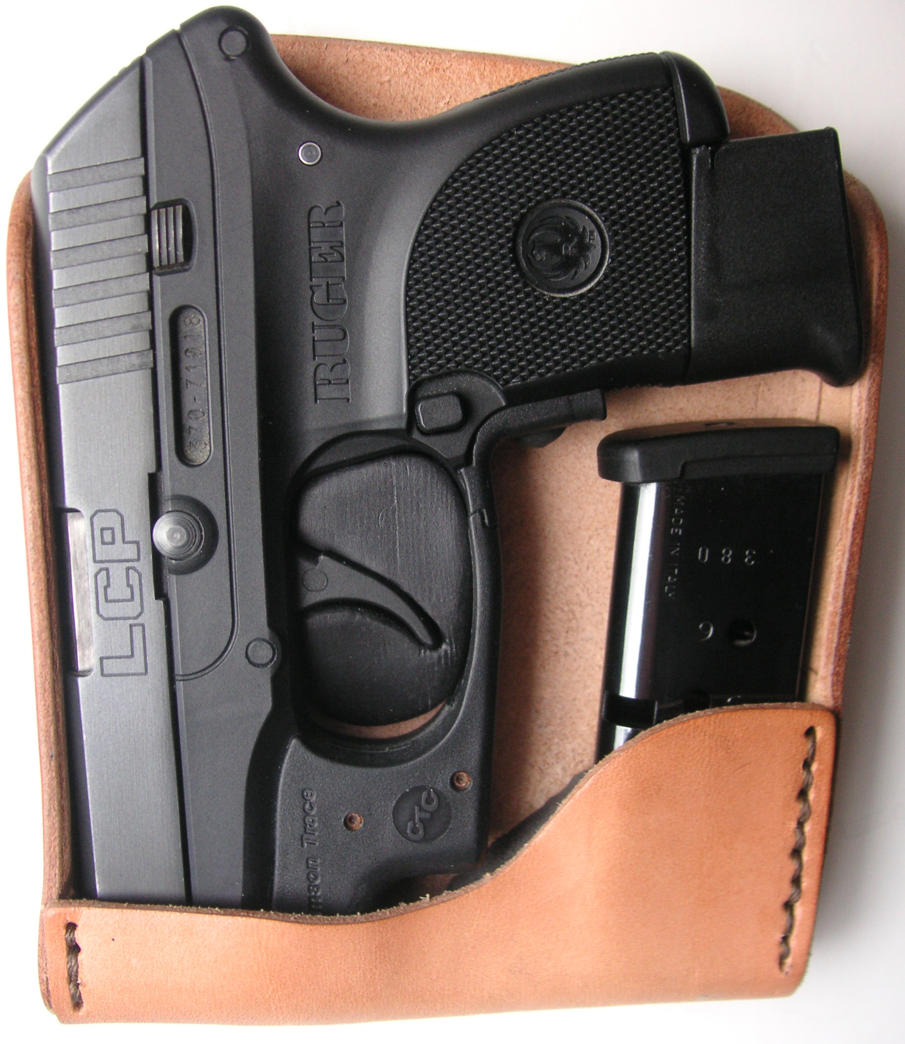 Ruger LCP-I Recluse OS Plus