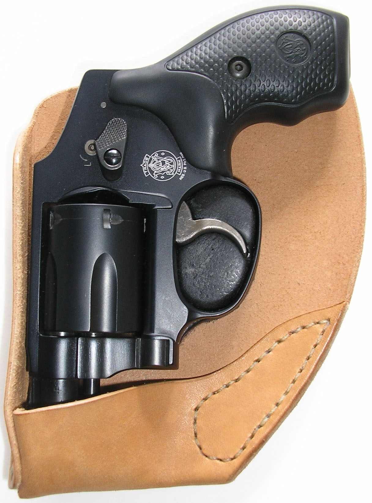 smith wesson j frame recluse os front